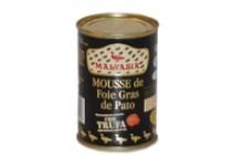 Mousse de canard aux truffes